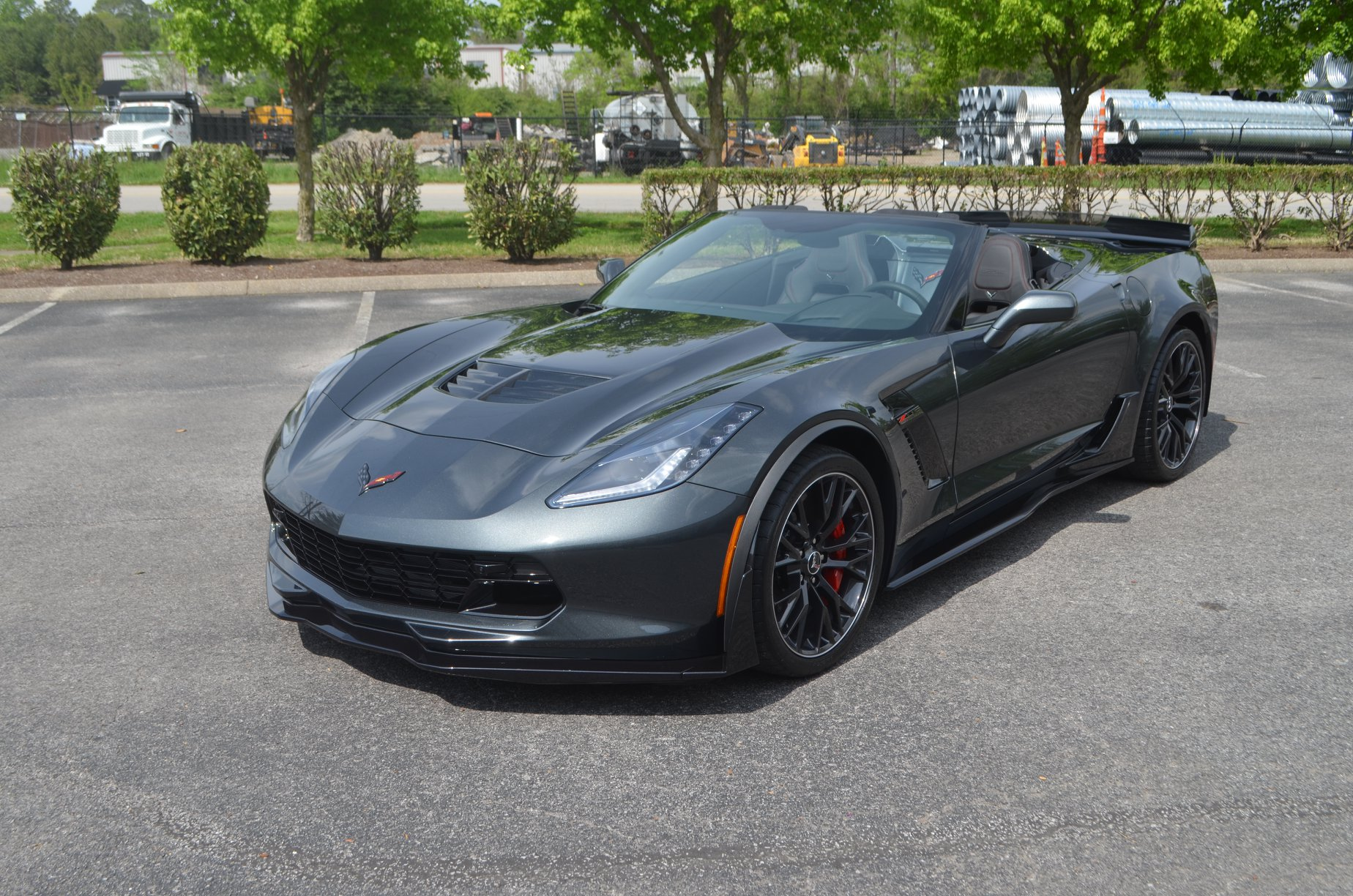 Chevy Corvette Z06: Full Body PPF, CQ FINEST Reserve, Other Aesthetic Mods