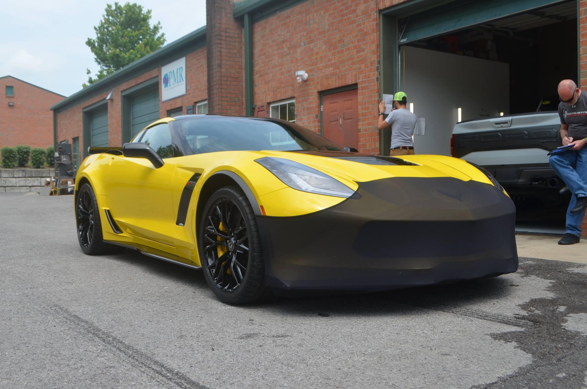 Chevy Corvette Z06: Track Pack PPF, CQ FINEST Professional