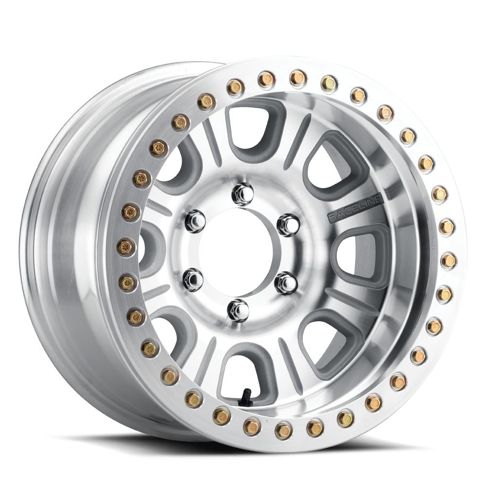RT233 - AL Monster - Machined Wheel with Machined Ring