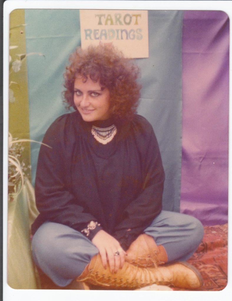 Meridy Volz in her hippie days. (     Photo courtesy of Alia Volz     )
