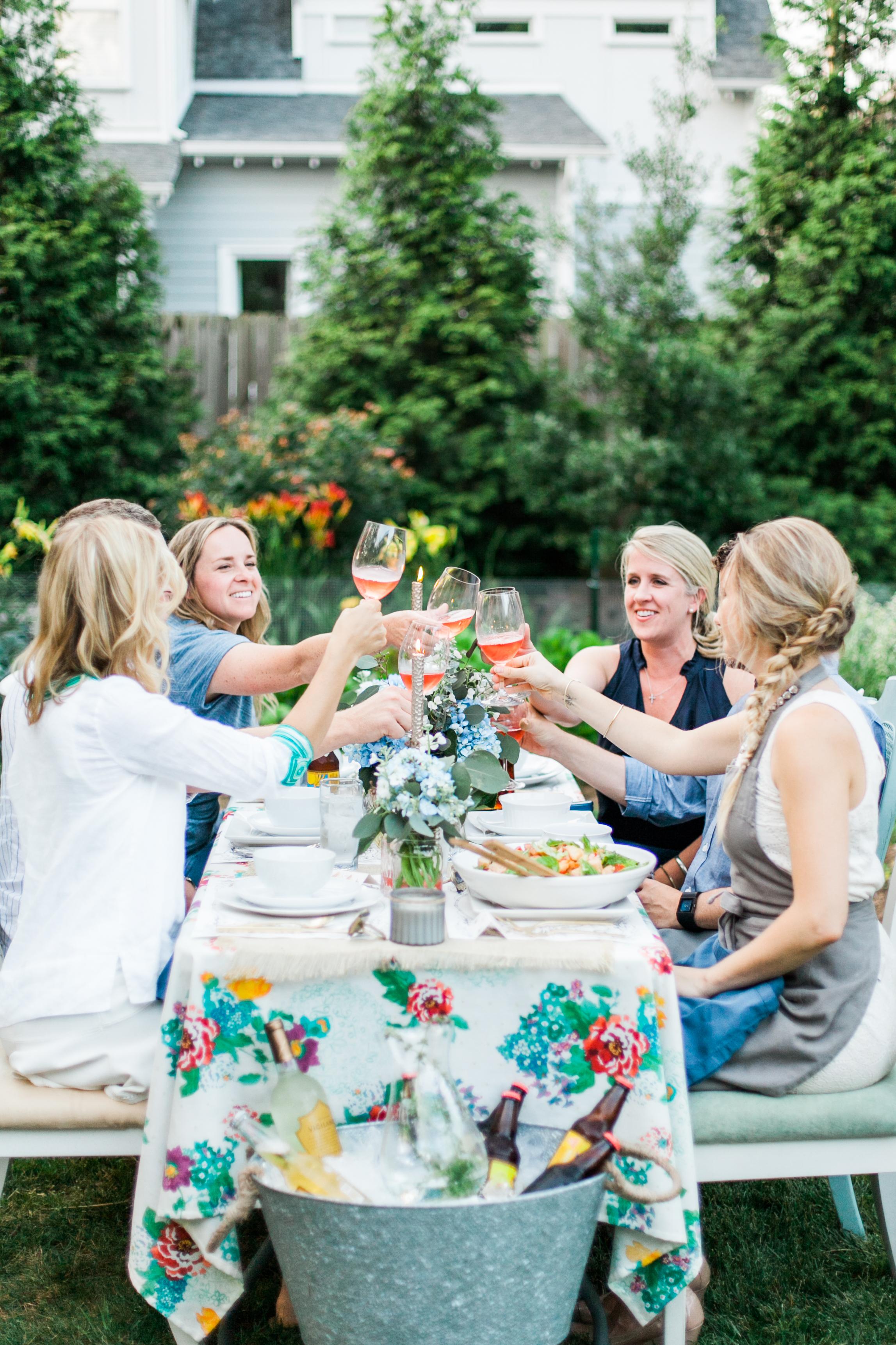 Bailey Rae Garden Dinner Party Nashville