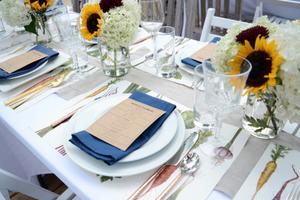 June Garden-Fresh Dinner Party