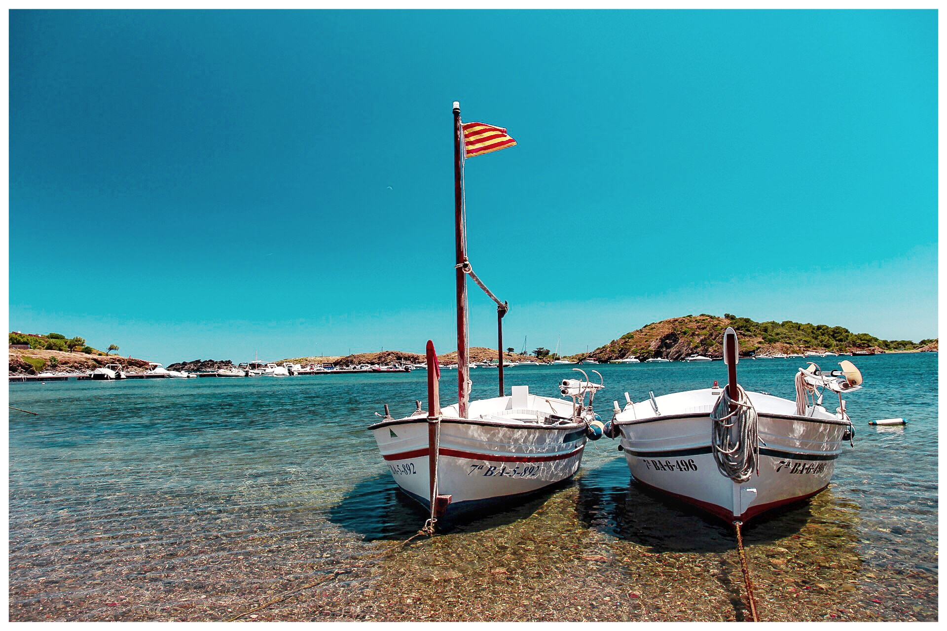 The Harbour outside Dali's house In Cadaqués