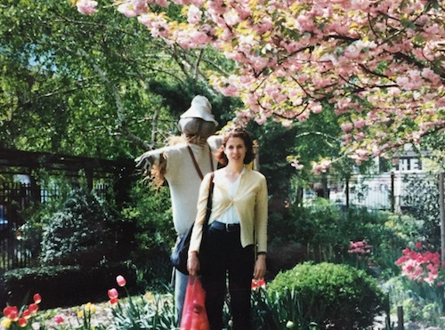 Lower East Side, NYC c.1998 in vintage cashmere, obviously.