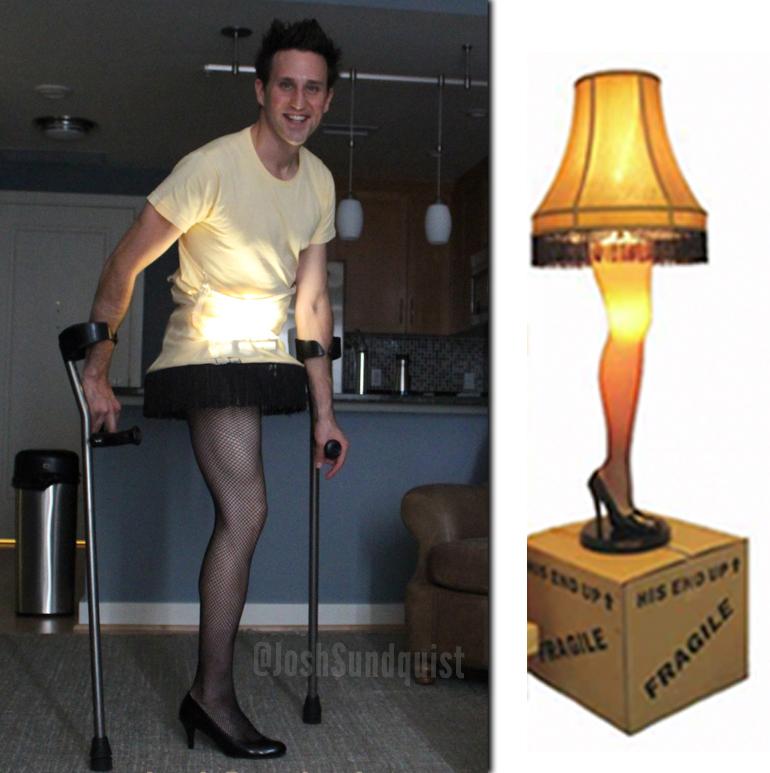 Leg Lamp (Halloween 2012).jpg