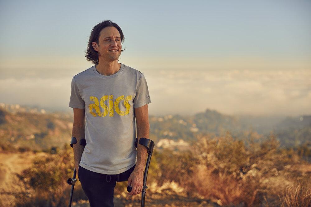 Josh Sundquist on Mountain