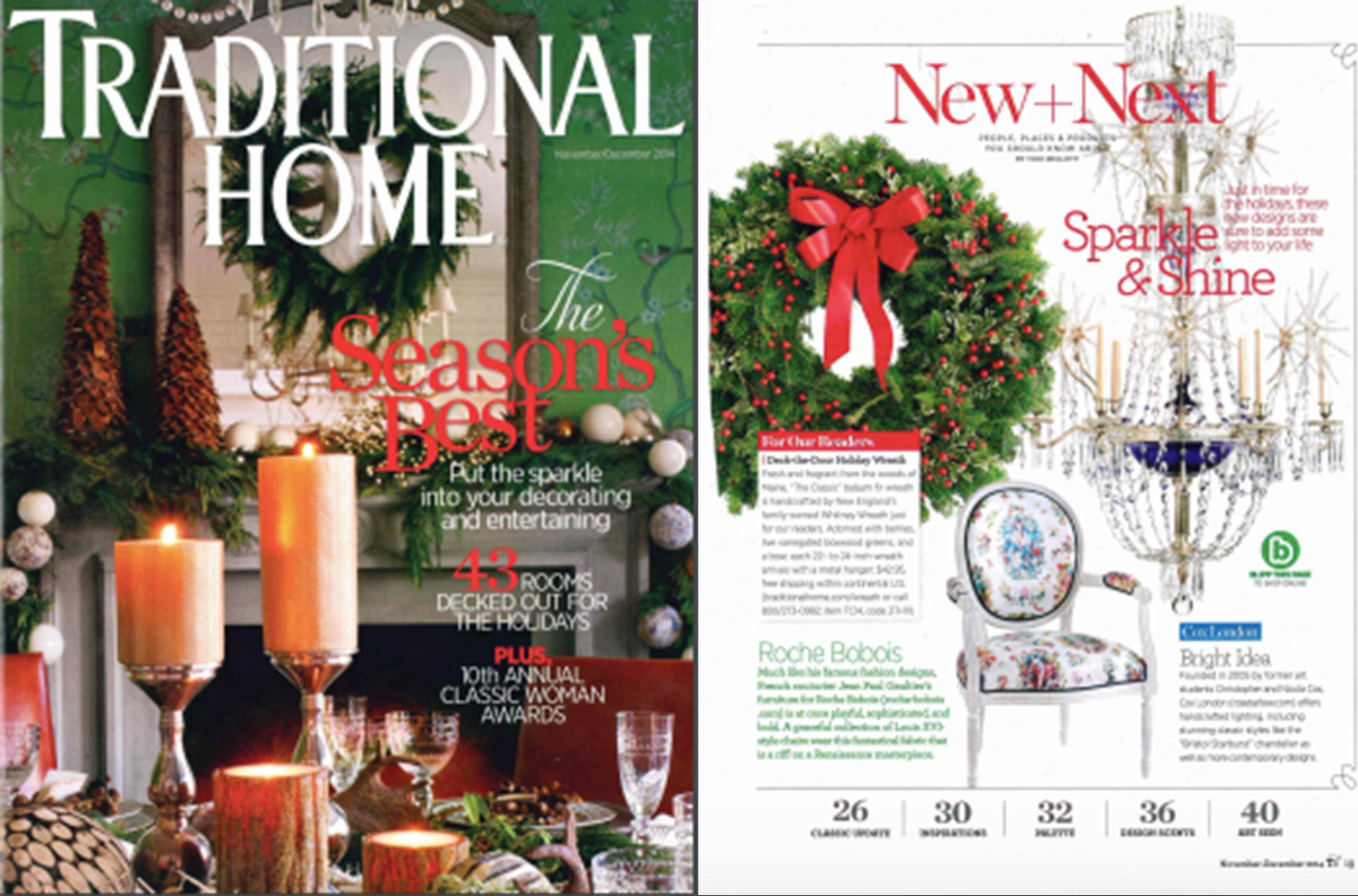 Traditional Home | Nov/Dec 2014