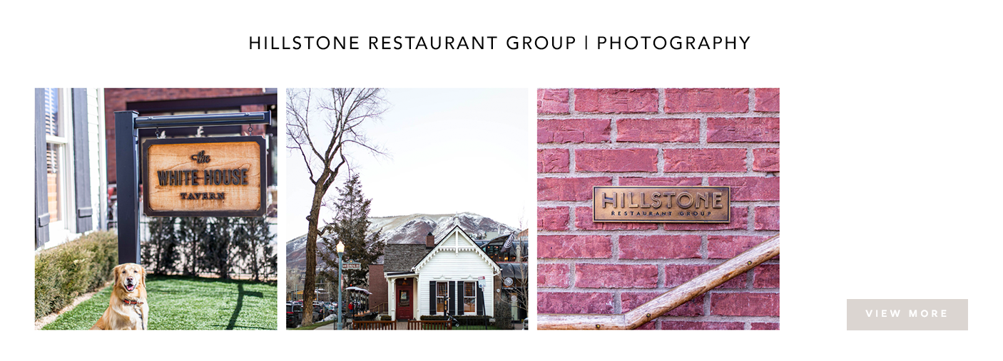Hillstone Restaurant Group Photography