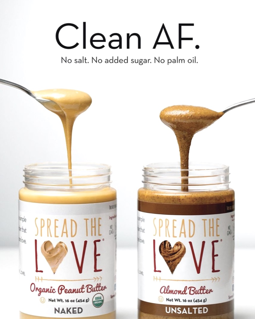 Spread the Love Clean AF Thrive ad for Expo West and Video of the campaign kicking off at the convention (Click Image to Watch) -
