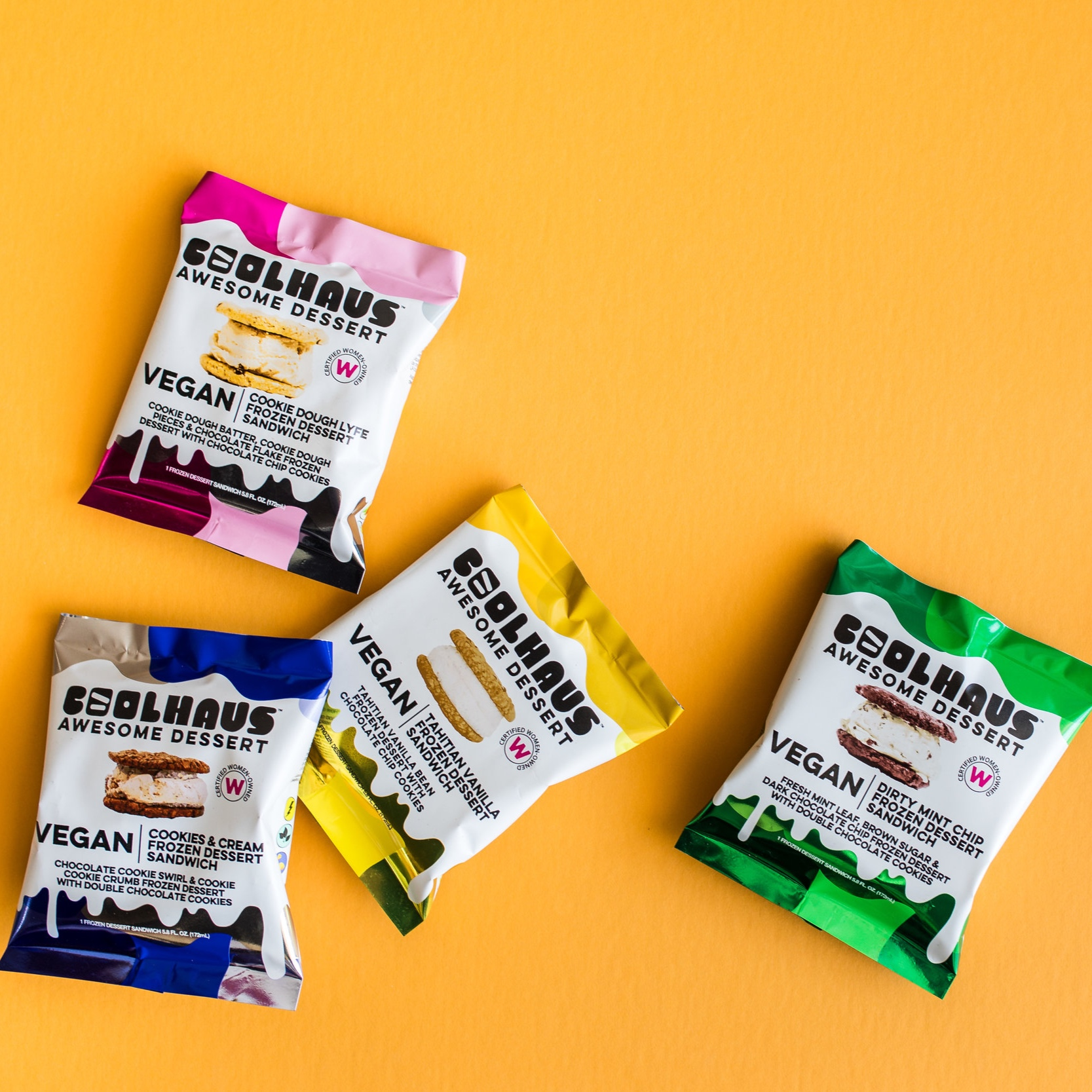 Coolhaus Ice Cream Product Photography