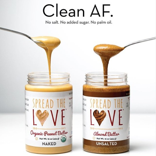 Spread the Love, Clean AF Campaign