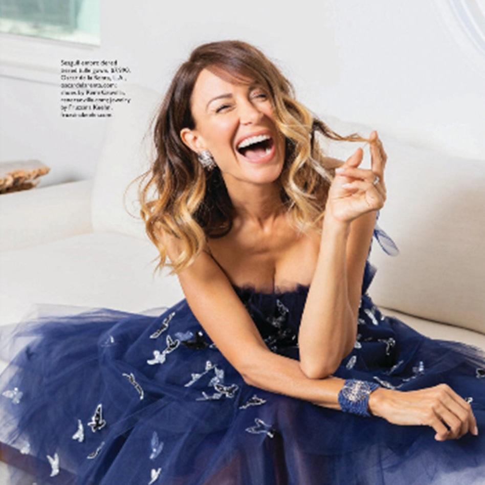 Una Malan - Woman of Style, Angeleno Magazine