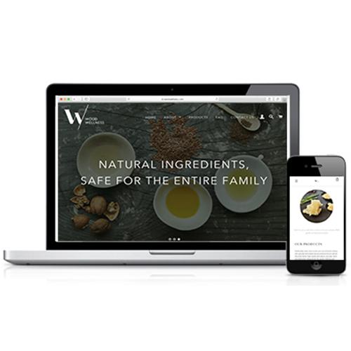 Wood Wellness Website & Launch