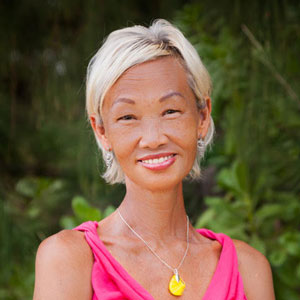 Ruby A. Wong - CERTIFIED YOGA & ONCOLOGY NAVIGATORRuby has been leading Wellness/Yoga/Breath Retreats in Greece and the Hawaiian Islands for many years, a four-time cancer survivor, a certified cancer patient navigator, and a certified Kundalini, Yin, and Yoga Nidra instructor with over 25 years of experience as a health and wellness practitioner.