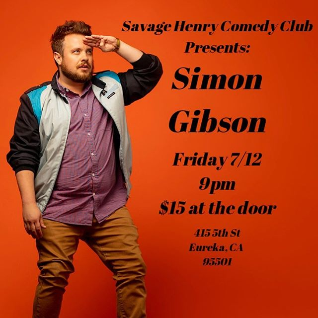 Taking a leisurely 10 hr drive up the coast to headline this new club on Friday. Tell all your stoner friends in humboldt county to come see me!