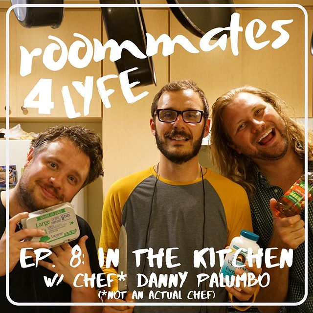 This is the funnest thing I get to do with my best bud/forced life partner. We are really hitting our stride and I would put our podcast up against anybody's. I'm having the time of my life! This week we introduce hilarious comedian and borderline chef @palumbros !! Give it a listen we're on EVERYTHING!