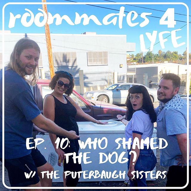 "New episode with two of our favorites and the best in the BIZ! @puterbaughtiff and @puterbaughdani join us to talk about Female Executives, gettin' blasted, and of course: IMPROV! And you know things get heated between myself and @mkpaulsen in another edition of ""Confrontation Corner"". Get it wherever hella fine podcasts are streamed and loved. 😘"