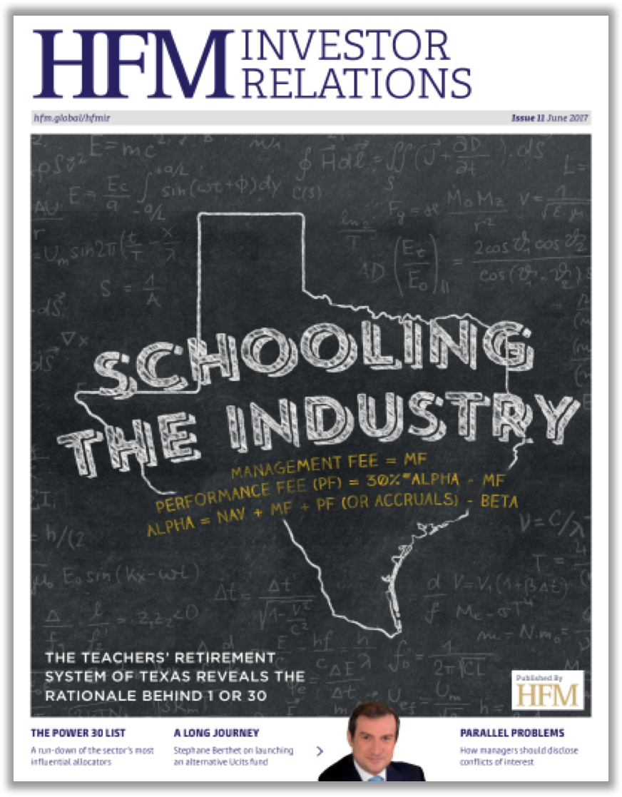 HFM Investor Relations: Schooling The Industry.