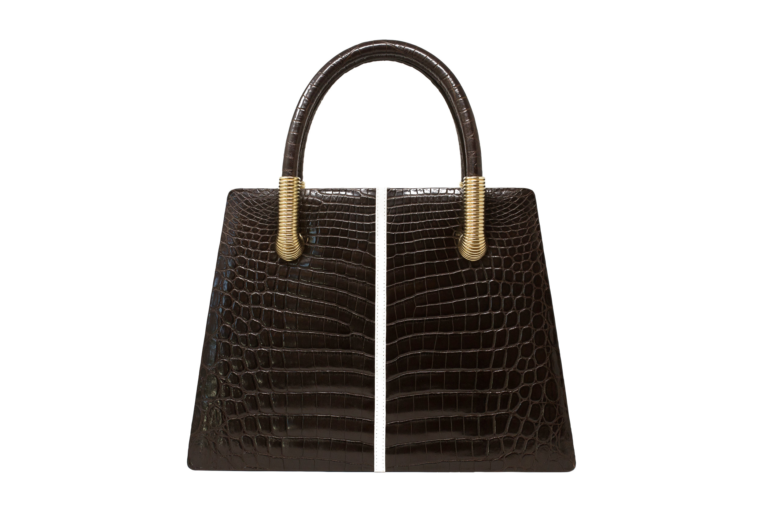 Calie Parese Luxury Crocodile Signature Tote