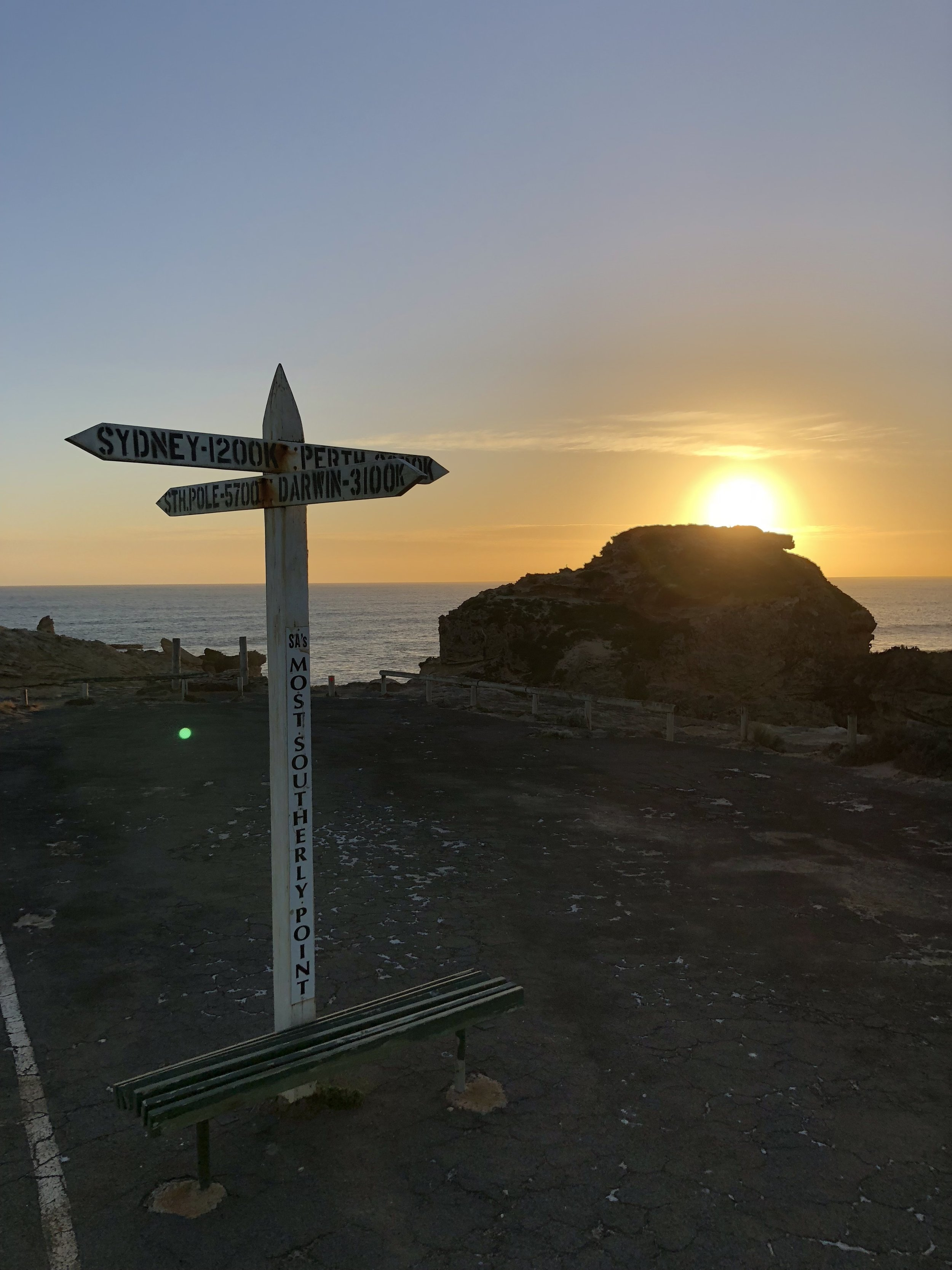 most southerly point SA