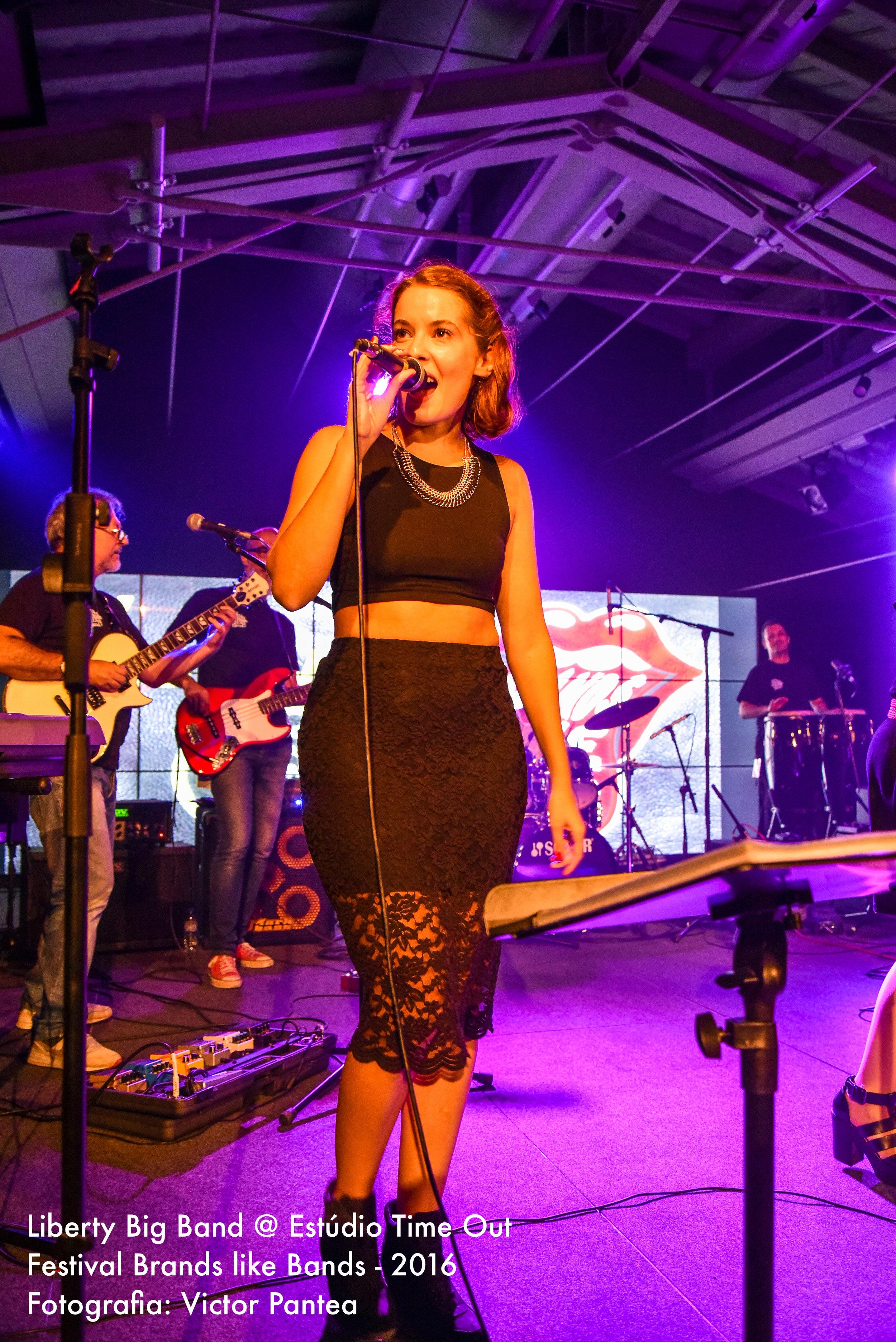 Sara Claro - Liberty Big Band
