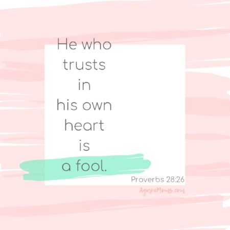 He who trusts in his own heart is a fool.jpg