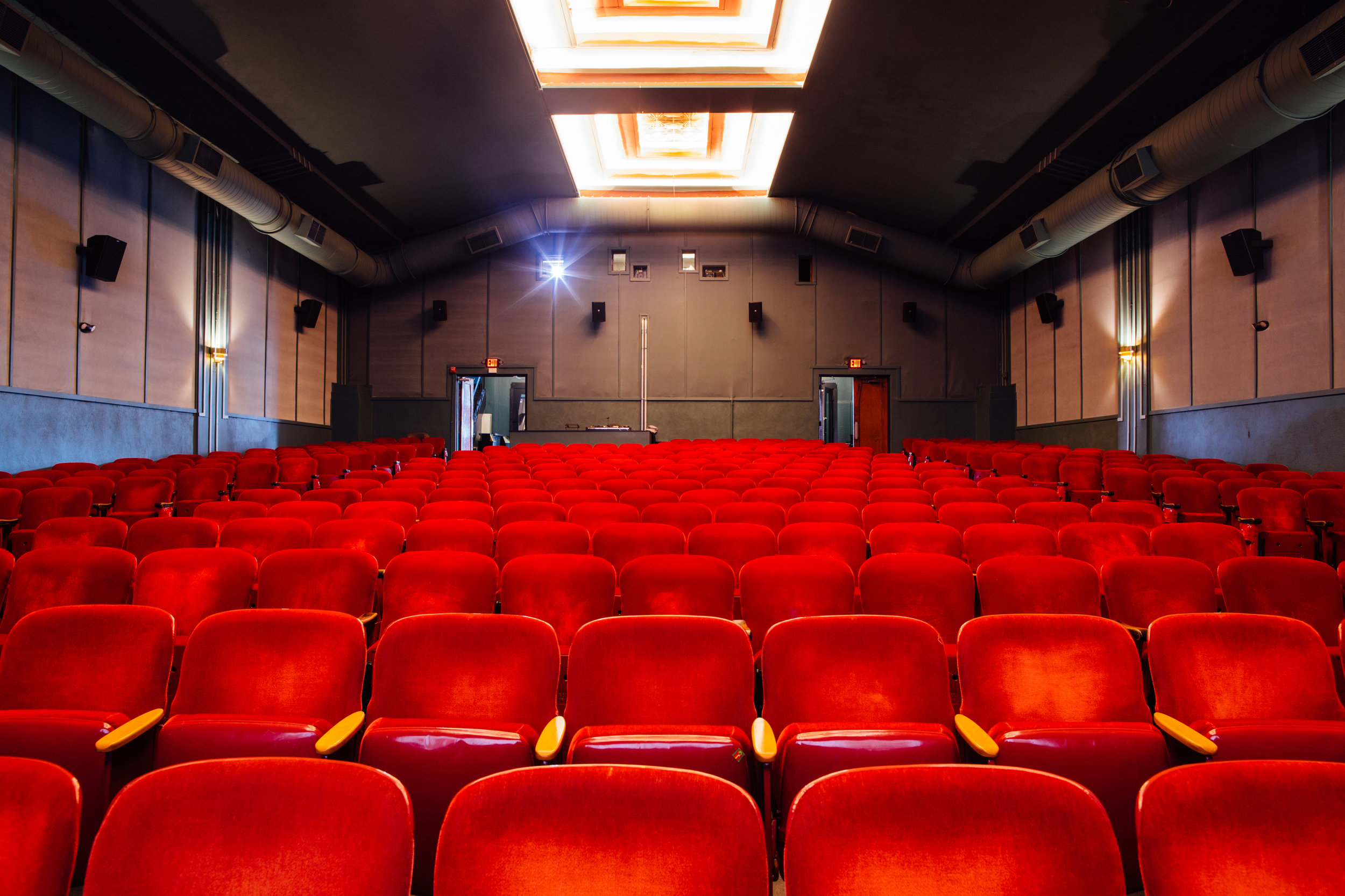 Private Screenings - In our historic theater