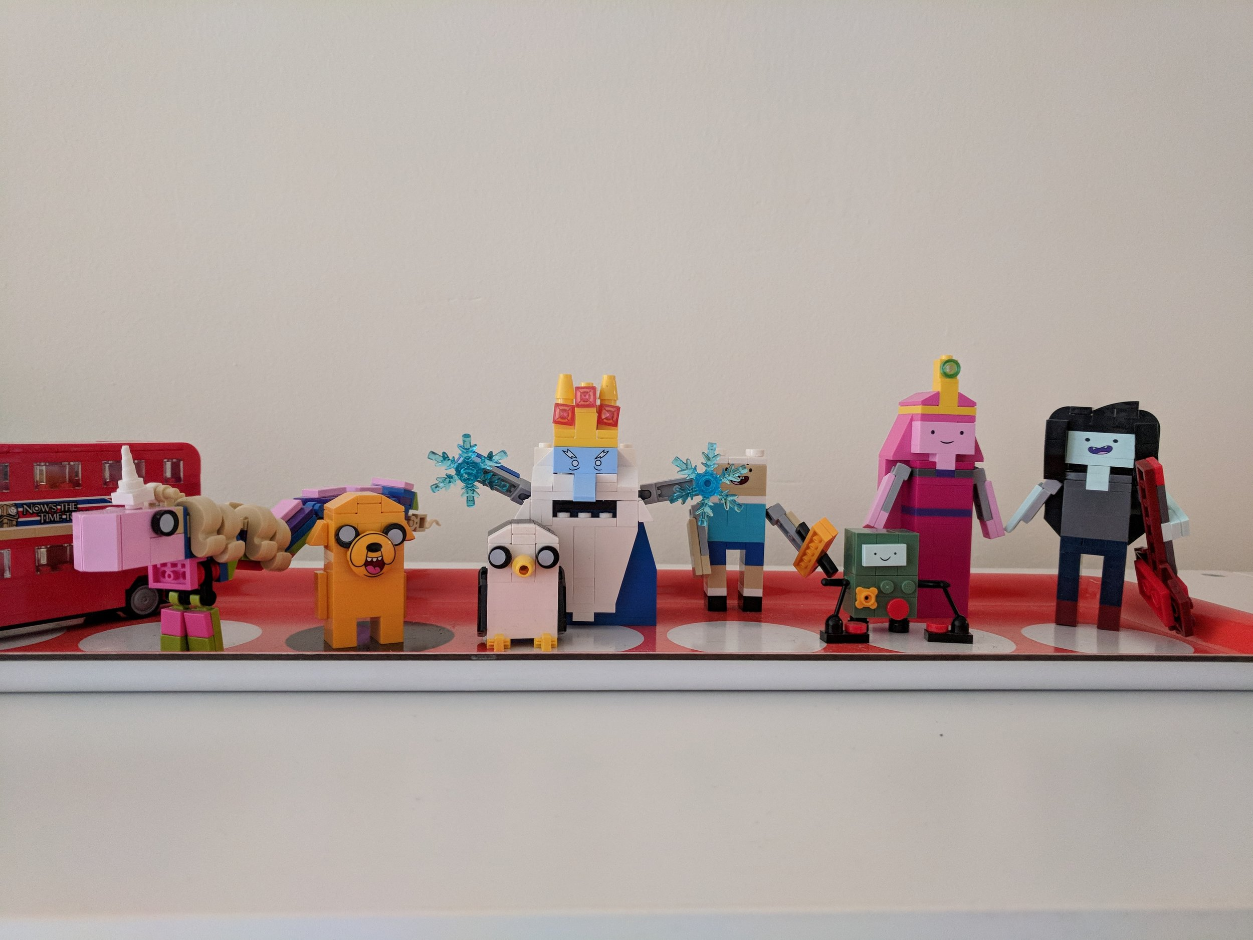 Adventure Time  Lego set.