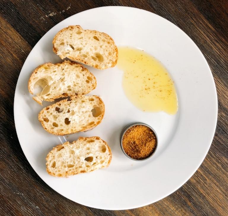 Sal de gusano (worm salt) and bread