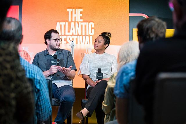 Grateful and humbled to have had Chef participate with @theatlantic festival this past week! . . Shared the stage with chefs from @cane_dc and @gogiyogi.bbq .  Offered a platform to talk about how family and heritage influence our food, the types of kitchens and culture we are trying to create, *the highly important and underserved issue of overcoming obstacles in making careers and starting businesses as immigrants in the current social and political climate* and chef's favorite topic of effecting social change in our communities using our restaurants as a platform. . Great experience talking with everyone and thankful to help create and add to this important dialogue in the District.
