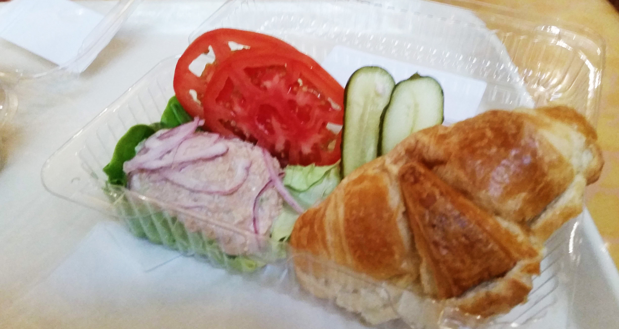 The Tuna Croissant at Sunshine Seasons in Epcot's Land Pavilion