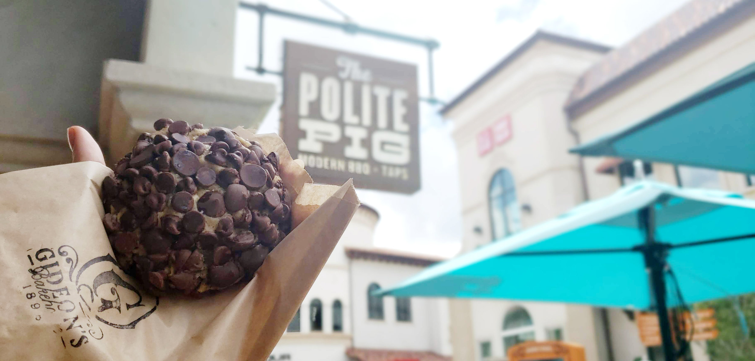 The Polite Pig at Disney Springs is one of only two places to get this giant cookie.