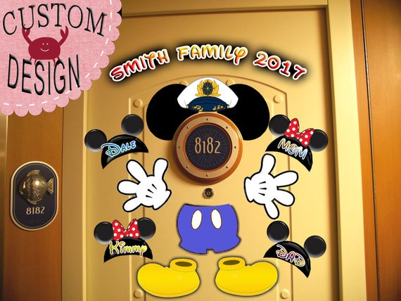 Captain Disney Cruise Door Magnet.jpg