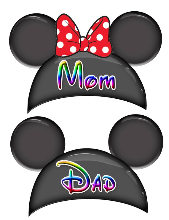 $1.99 Each: Personalized Ear Hat Disney Cruise Door Magnets
