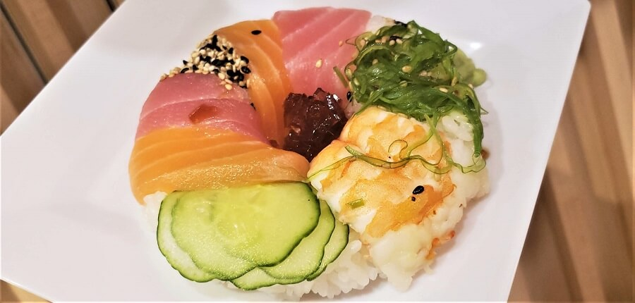 This is the sushi donut. Purchase and eat this. Photo: Rain Blanken
