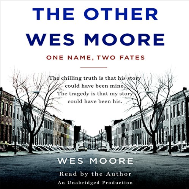 The Other Wes Moore - Audiobook recorded by Rene Veron