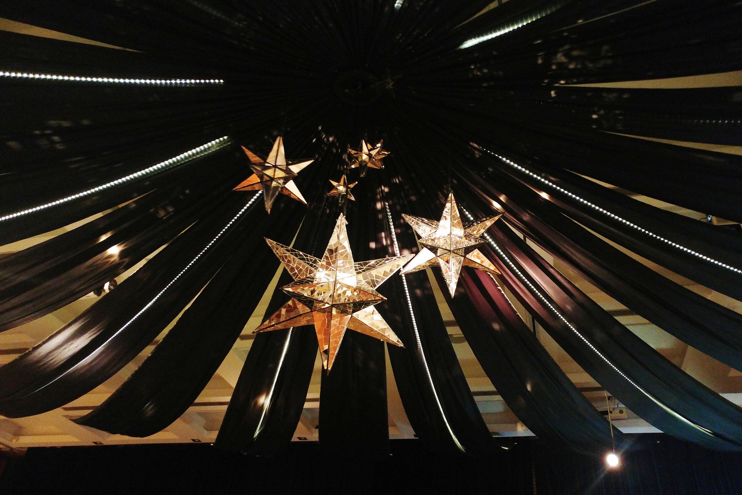 black ceiling & mirrored stars.jpg