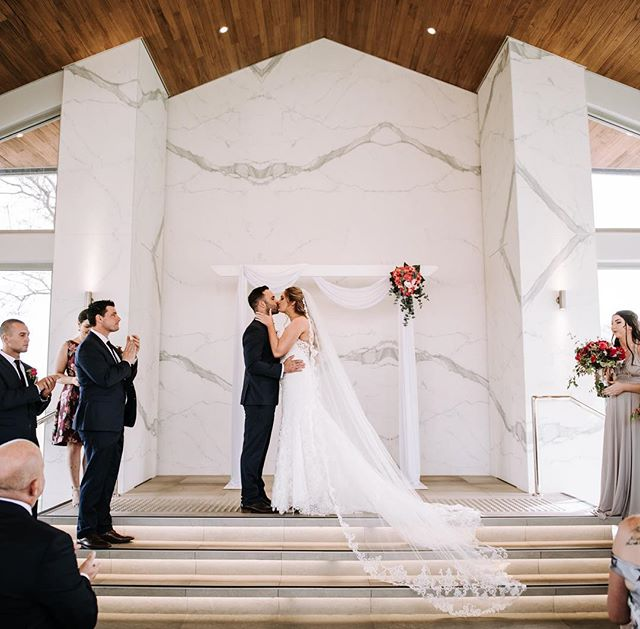 The first kiss as a married couple. Our arbour looking gorgeous in the stunning Garden Pavilion @vinesresort @vinesresortweddings  Photo by @sandiebertrandphotography  arbour and flowers @specialoccasionswa  #weddingarbour #weddingceremony #weddingstyling #swanvalleywedding #perthbrides #specialoccasionswa