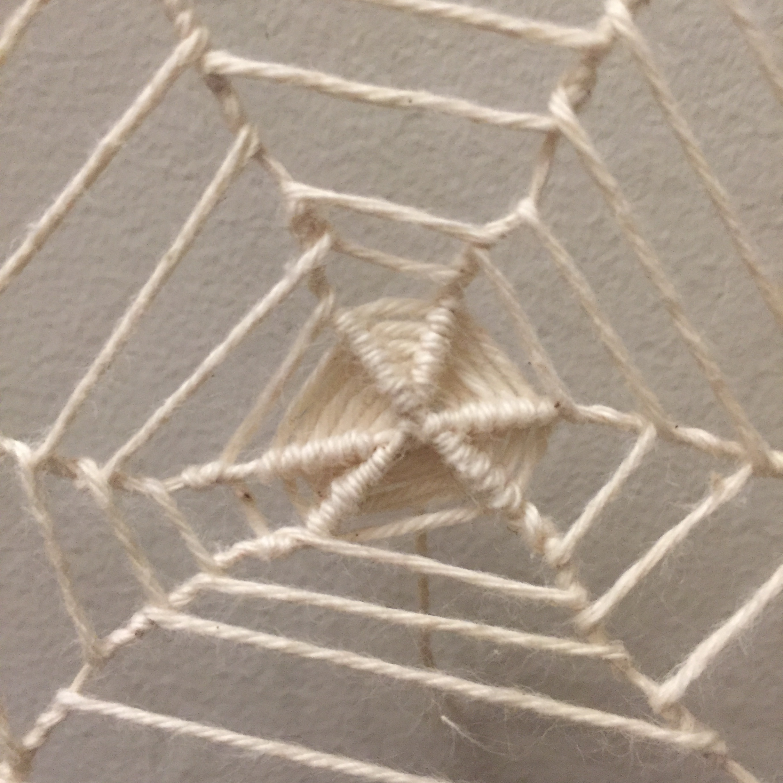 Web detail, front. Maya Eilam