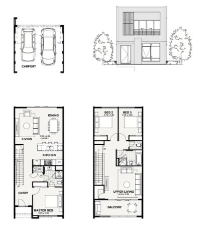 The Chelsea - Urban Mews_two storey home perth.jpg