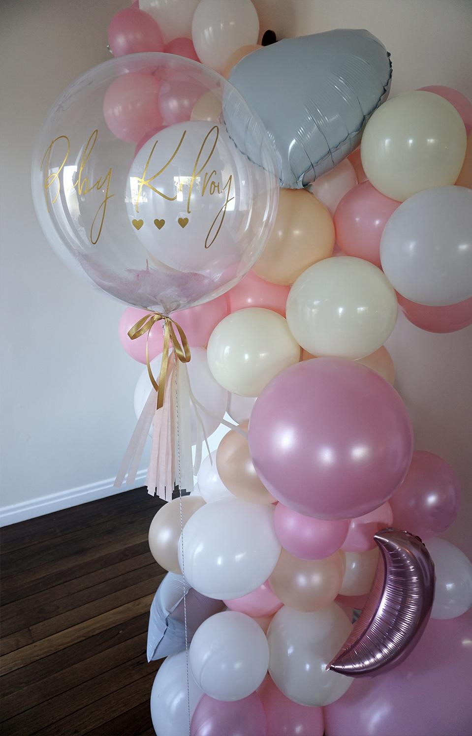 price varies depending on size - Custom balloon garland