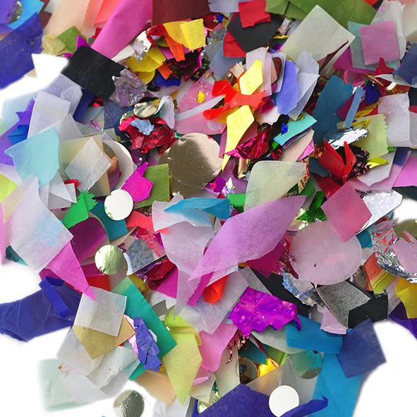 - Confetti