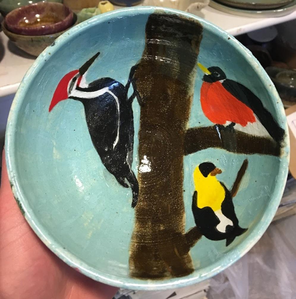 Bird Bowl, Spring 2018.