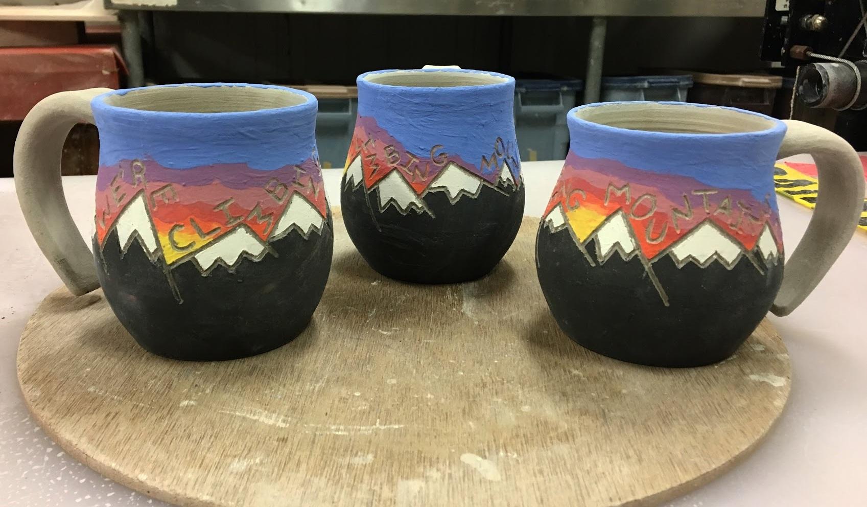 Mountain Mugs, Winter 2018.