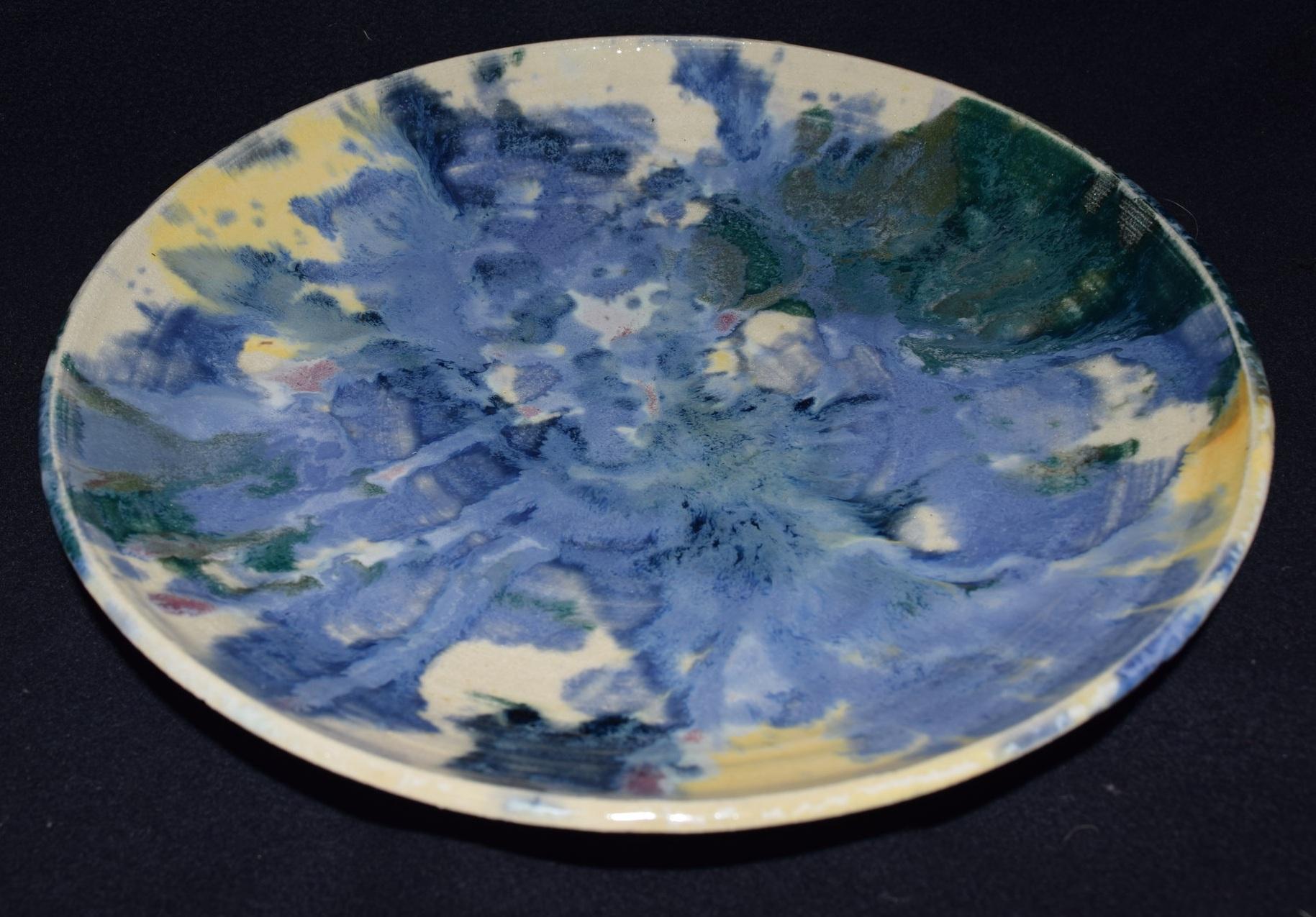 Splatter Plate, Fall 2017.