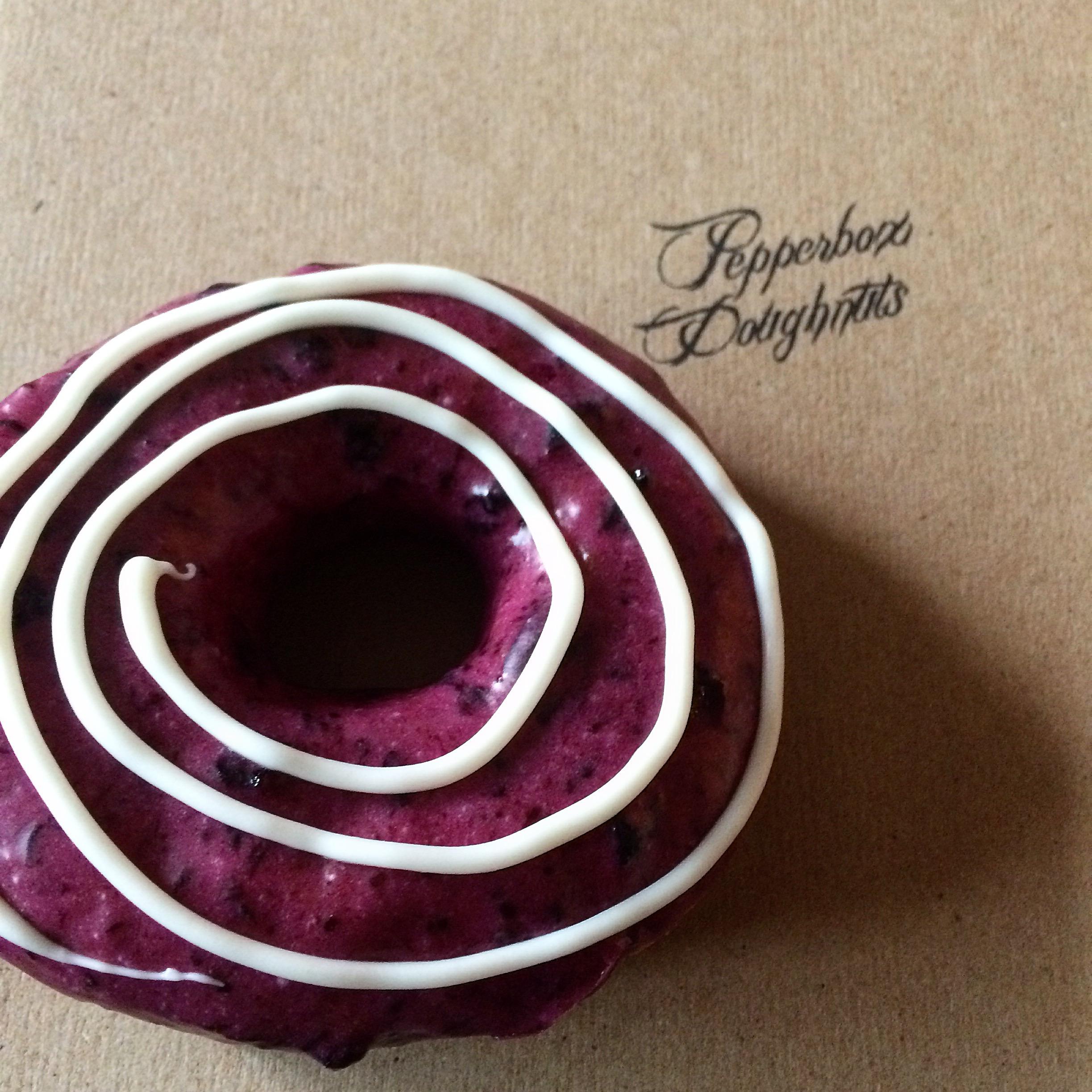 Blueberry White Chocolate Swirl