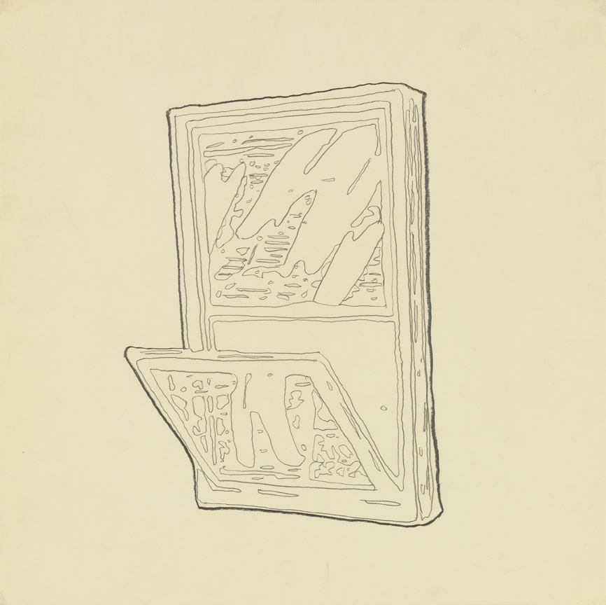 Window   1980  graphite on paper  20 x 20 in / 50.8 x 50.8 cm
