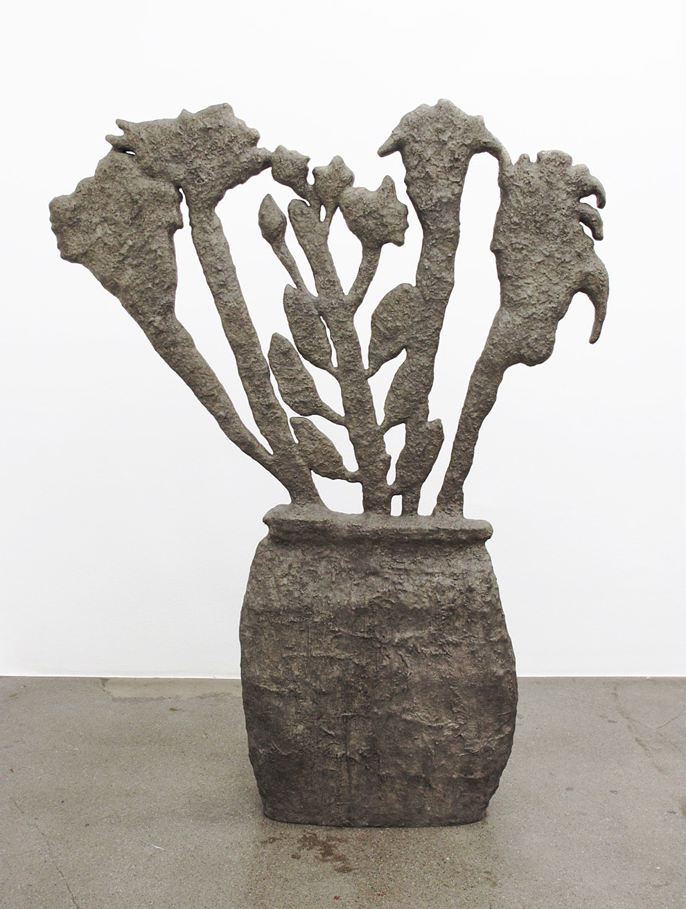 Donald Baechler   Flowers   2009  bronze  72.5 x 54 x 8 in / 184 x 137 x 20 cm  Edition of 8 + 2 APs
