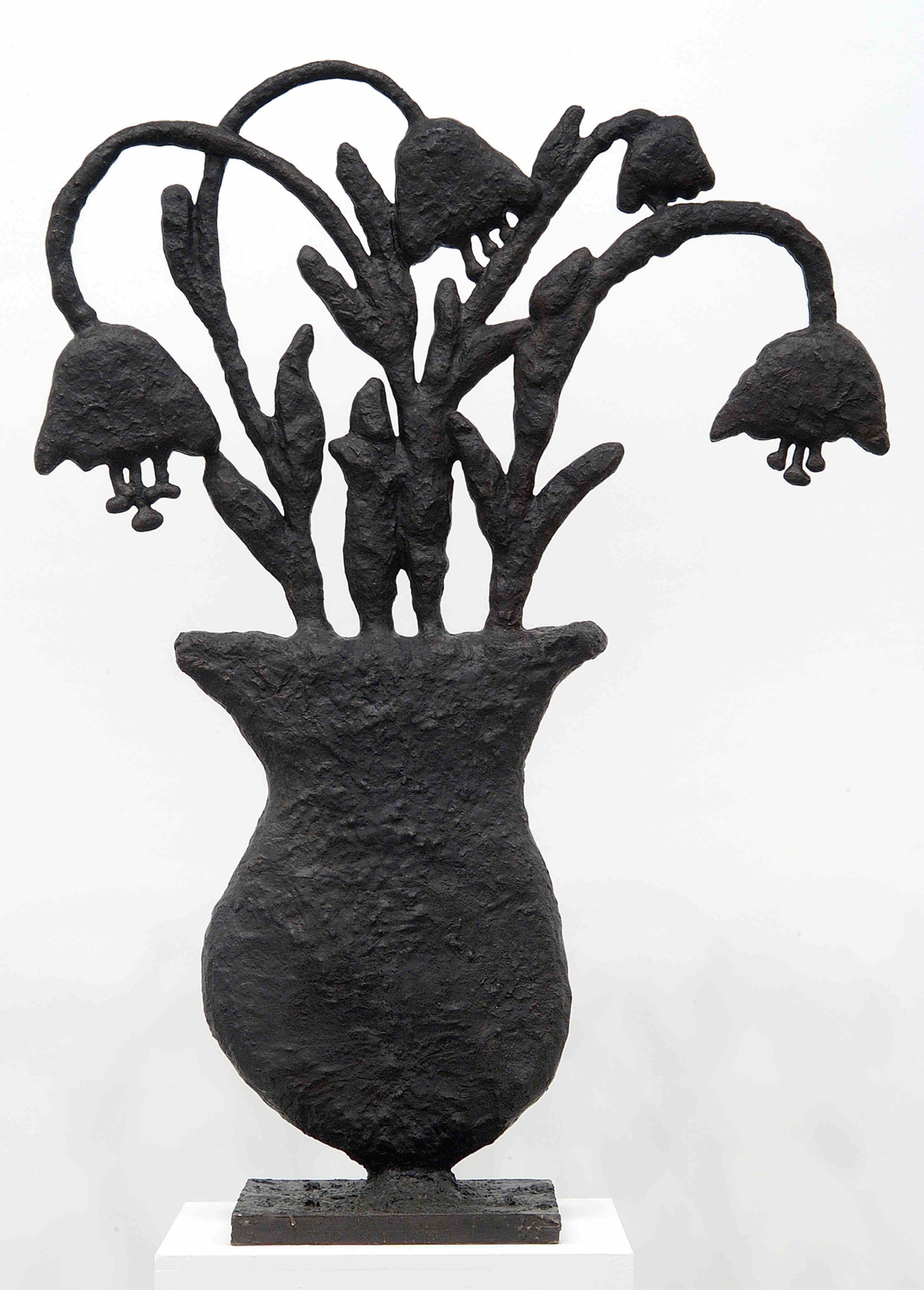 Donald Baechler   Untitled (Flowers)   2003-04  cast bronze  63.5 x 45.5 x 17 in / 161 x 116 x 43 cm  Edition of 8 + 2 APs