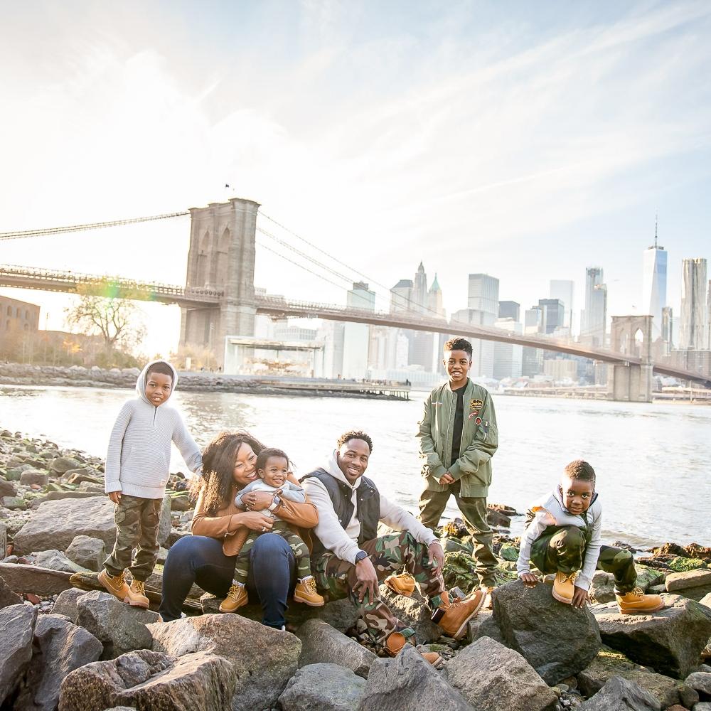 DUMBO -NYC SUBWAY - BROOKLYN